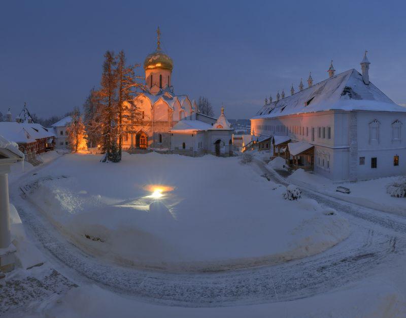 Зимним вечером.photo preview