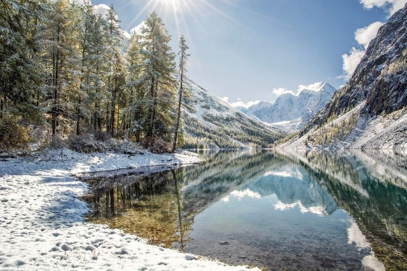 алтай,осень,зима Шавлинская филиграньphoto preview