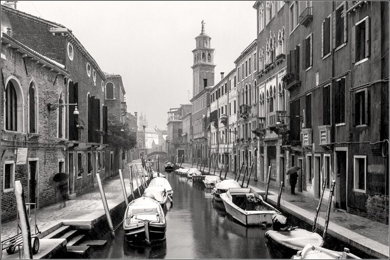 italy, venice, BW, cityscape,  photo preview