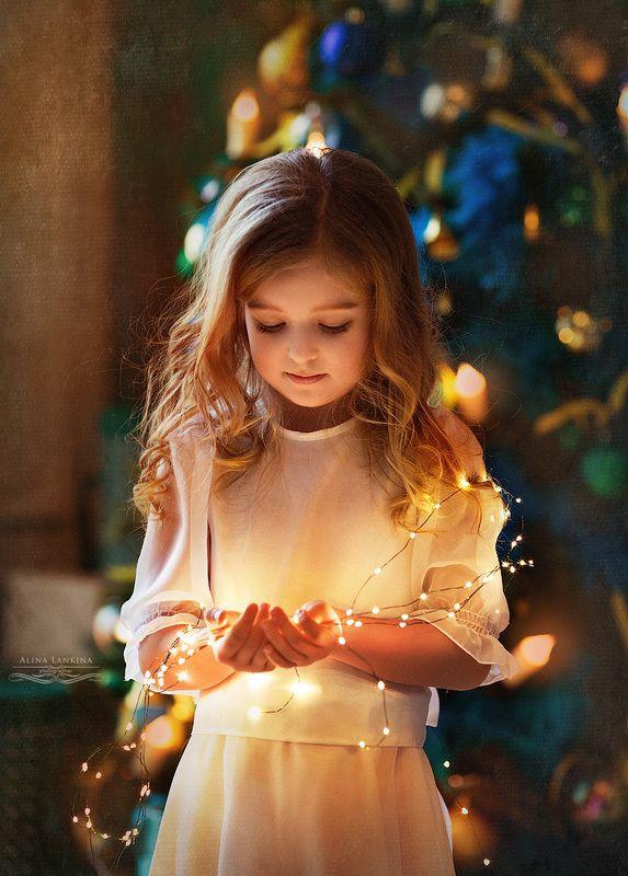 портрет, девочка, семейное фото, студийное фото, новый год, праздник, алина ланкина, Новогодняя история...photo preview