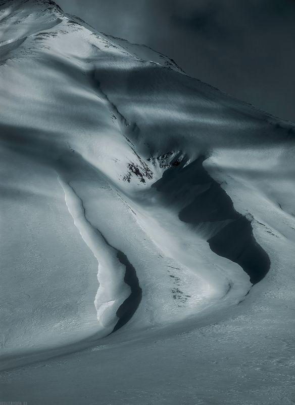 природа, грузия, горы, зима, ландшафт, пейзаж, гудаури, путешествие, закат Горные светотениphoto preview