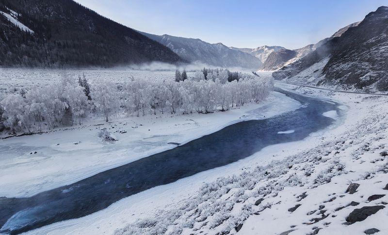В снежном серебре...photo preview
