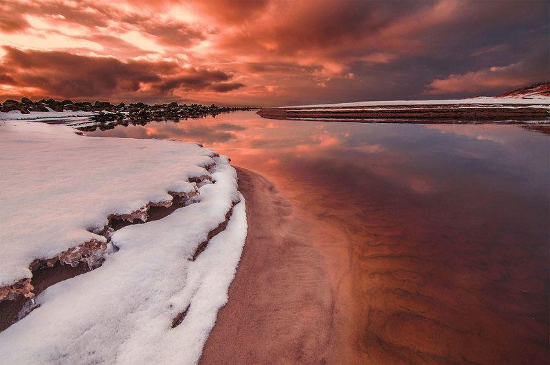 coastline,sunset,sea,sky,clouds Coast wingsphoto preview