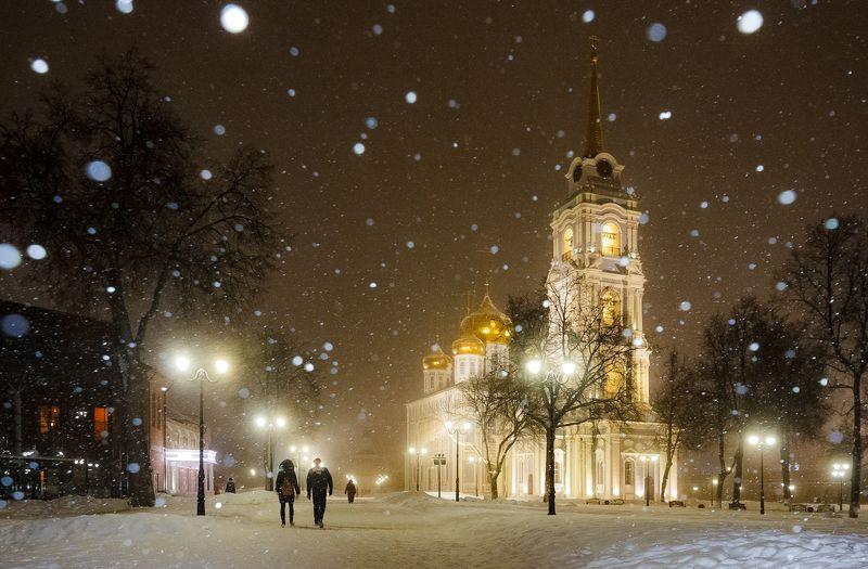 тула Снегопад в Тулеphoto preview