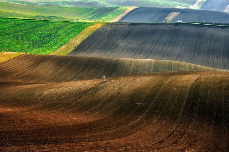moravia, landscape, south, car, fields Carphoto preview