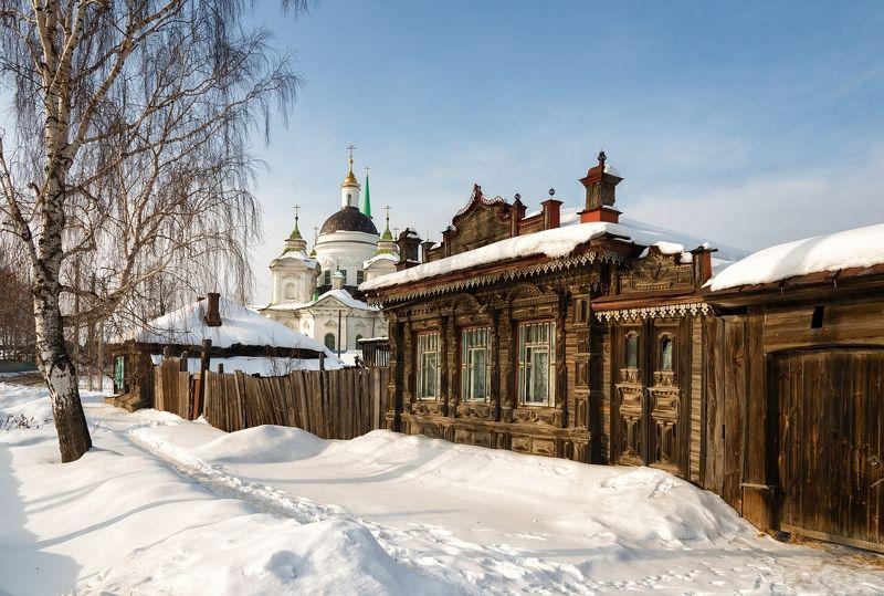 Зима в селе Быньгиphoto preview