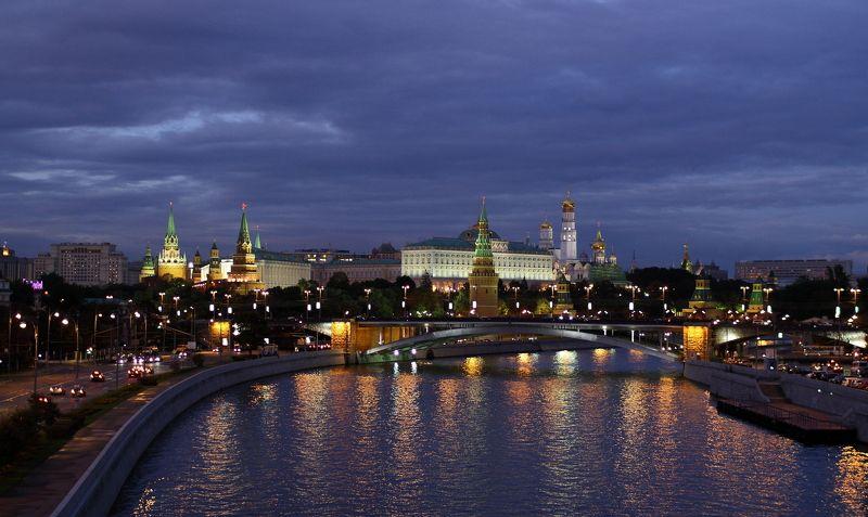 Вечерний кремль.photo preview