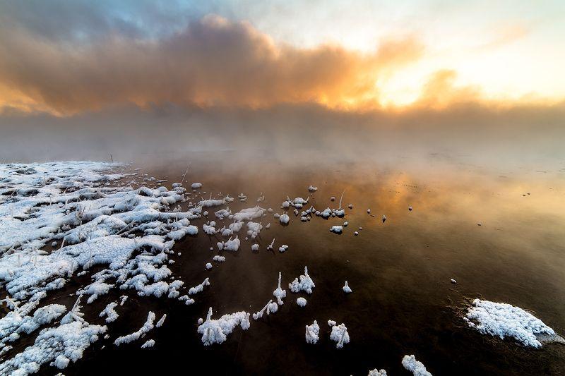 Февральское озеро Кенонphoto preview