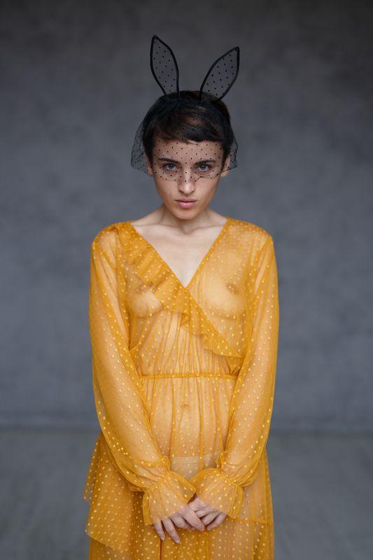 девушка, платье, ню, студия Вераphoto preview
