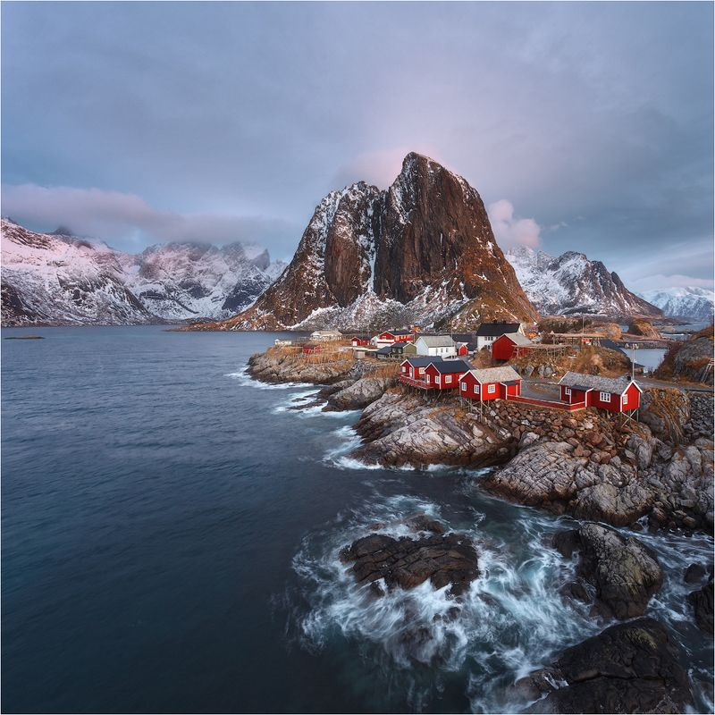 hamnoy.norway.landscapes.worlds. Hamnoyphoto preview