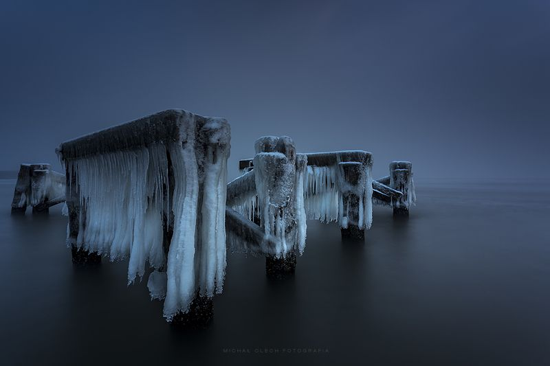 Baltic Sea, Poland, ice, winter, snow, снег, зима, польша Ice soldiersphoto preview