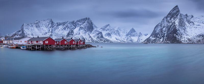 норвегия, лофотены, norway, lofoten Arctic villagephoto preview
