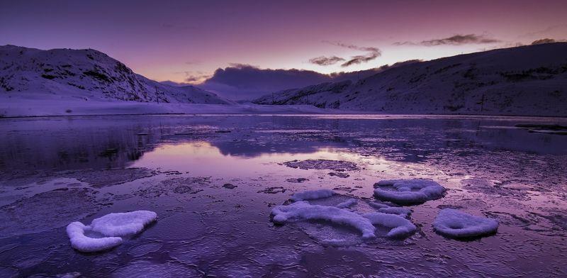 Териберка, закат, Кольский В лучах заходящего солнца photo preview