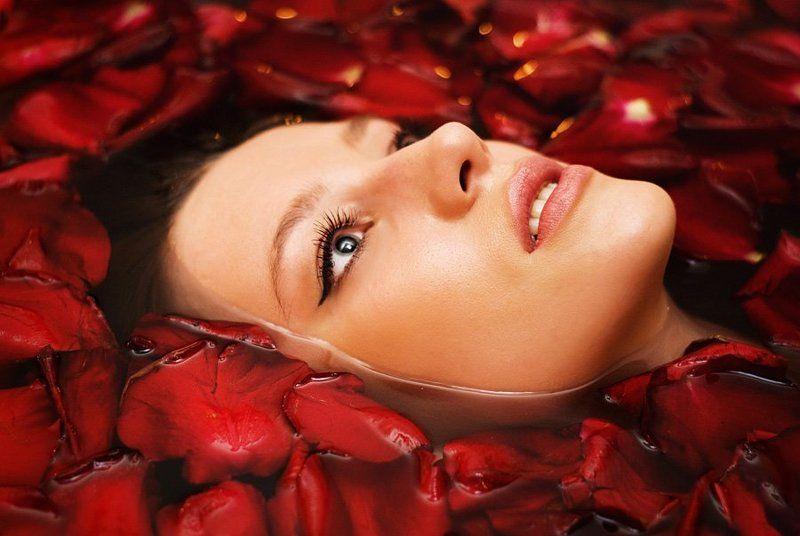фото, глеб, филатов, z-foto, девушка, ванна, лепестки, розы ***photo preview