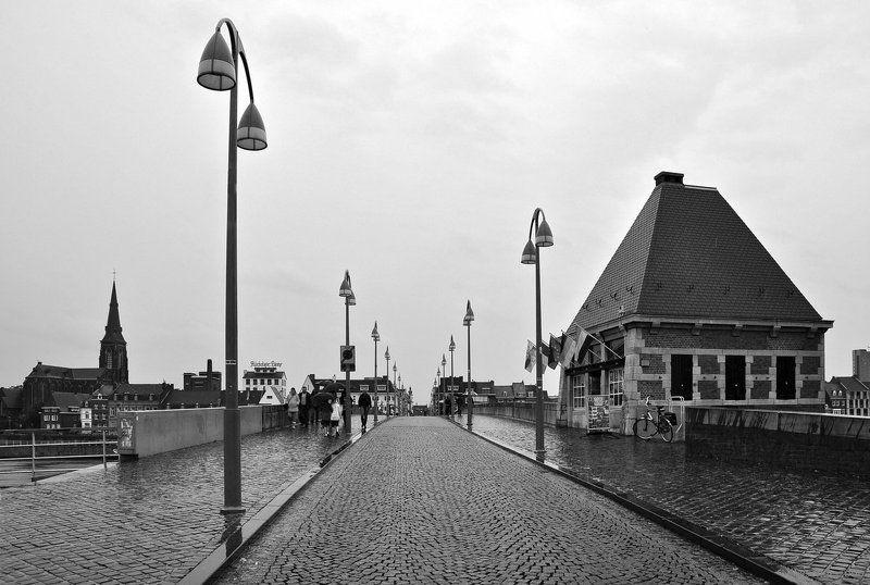 нидерланды, маастрихт, маас, мост, sint, servaasbrug Мостphoto preview