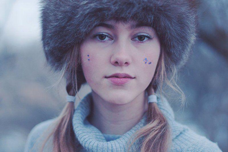 зима, меховая шапка Katerinaphoto preview