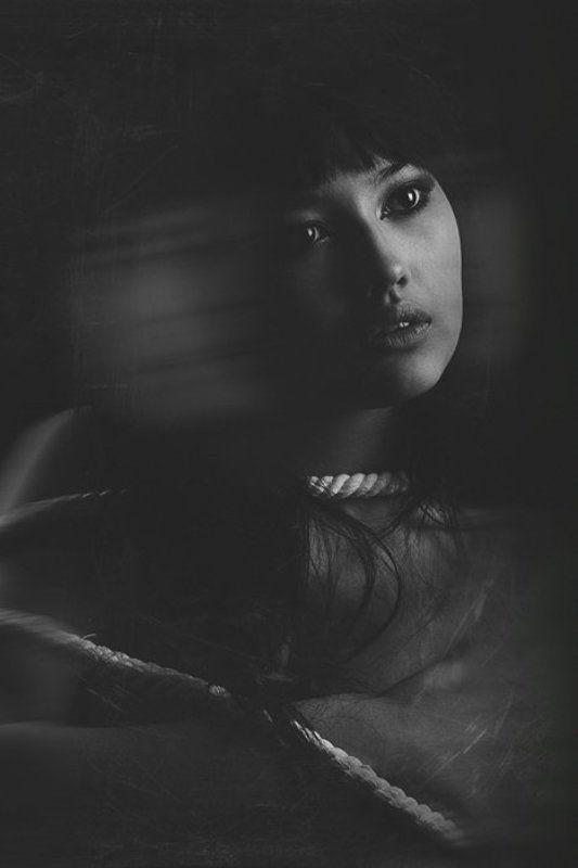 тени, иллюзии, черно белое, хоррор Тень иллюзииphoto preview