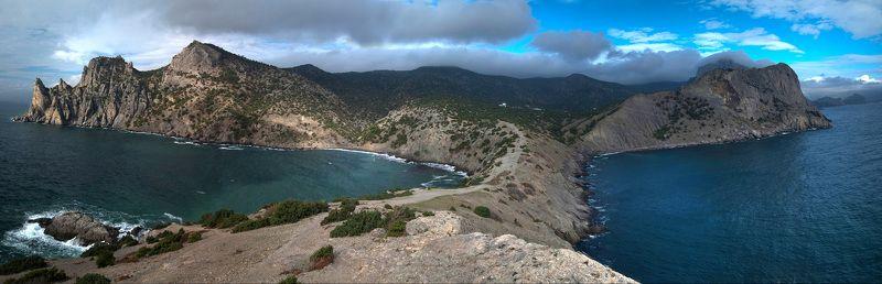 крым, море , осень Остров невезенияphoto preview