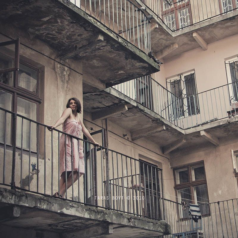 life in Lviv (in color)photo preview