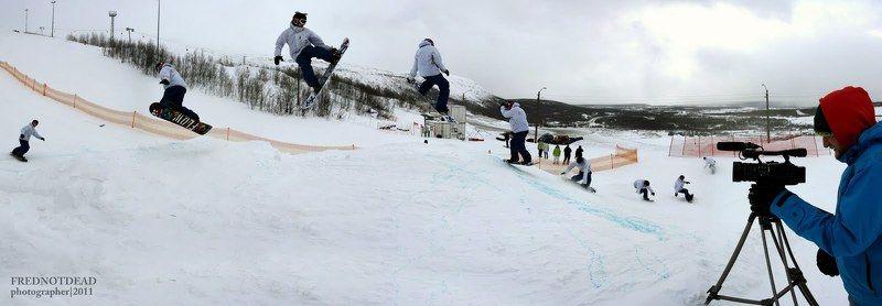 сноубординг I.T.C. второй этап соревнования \