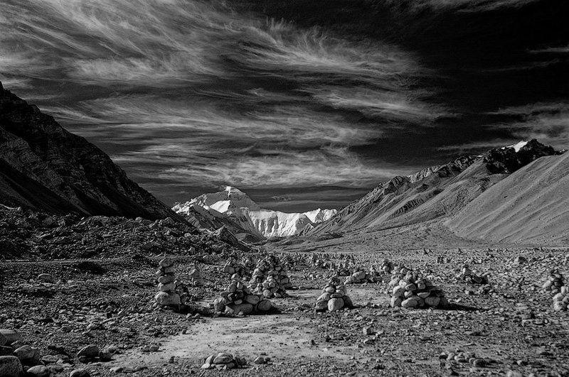 тибет, эверест, гора Эверестphoto preview