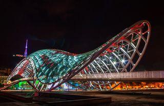 Мост Мира. Тбилиси