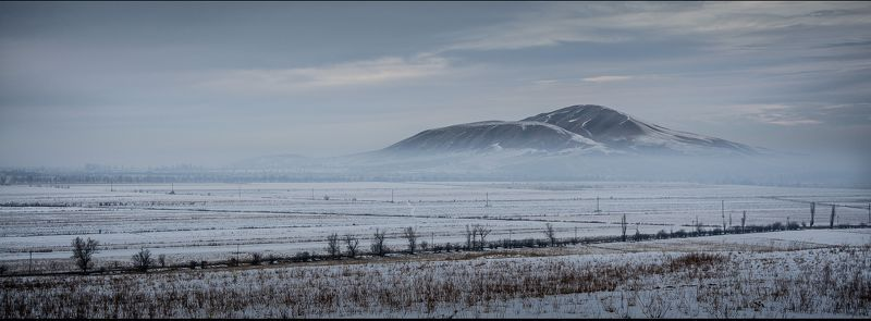 горы, зима, туман, природа, пейзаж Зима в горах 2photo preview
