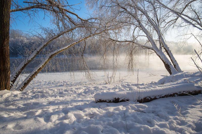 мороз,река,пейзаж,природа,зима,winter,landscape,nature,rivers Приморозилоphoto preview