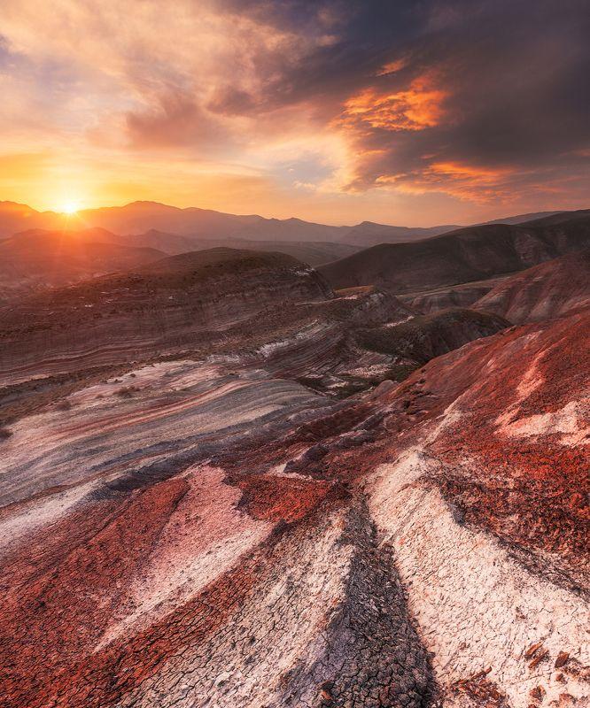 Цветные горы Хызы, Азербайджанphoto preview