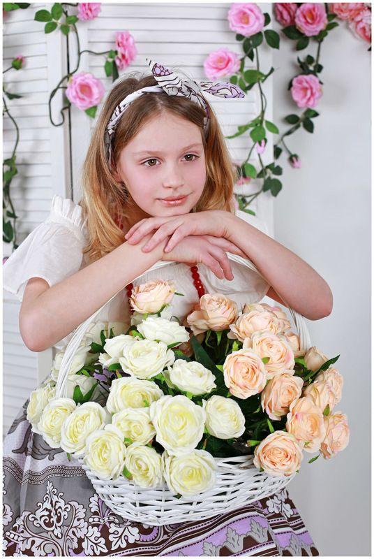 дети портрет студия цветочница Цветочницаphoto preview
