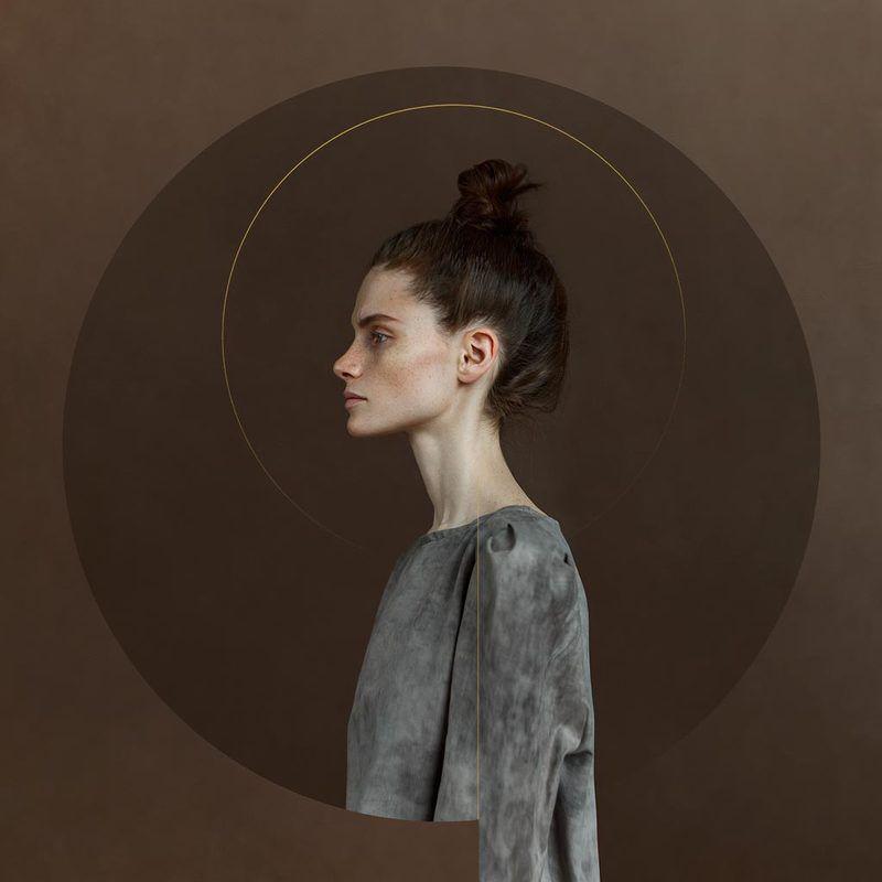 девушка, арт, портрет ЭVII новые люди. П.С.  раненая версияphoto preview