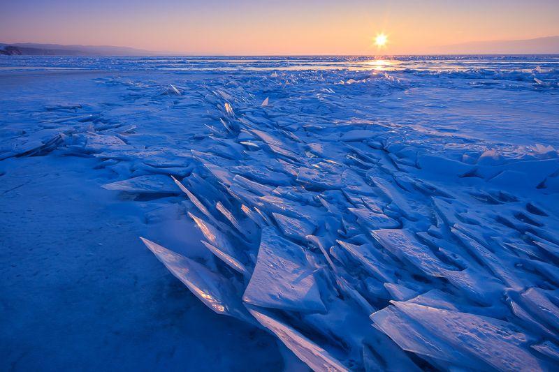 Закат на Байкале.photo preview
