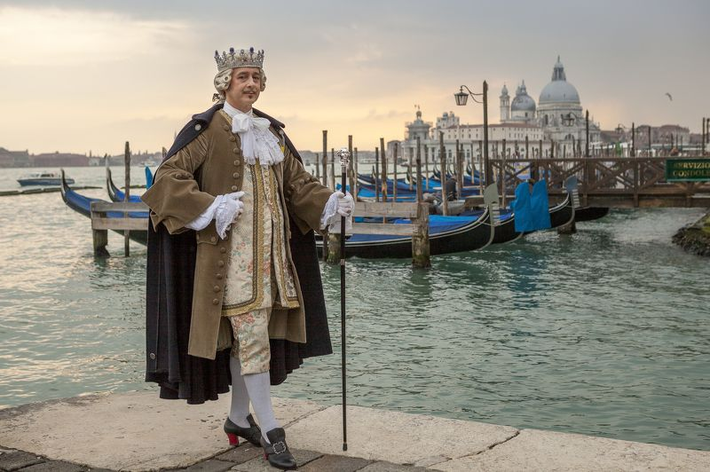 Italy, venice, portrait, carnival, Nobile Venezianophoto preview