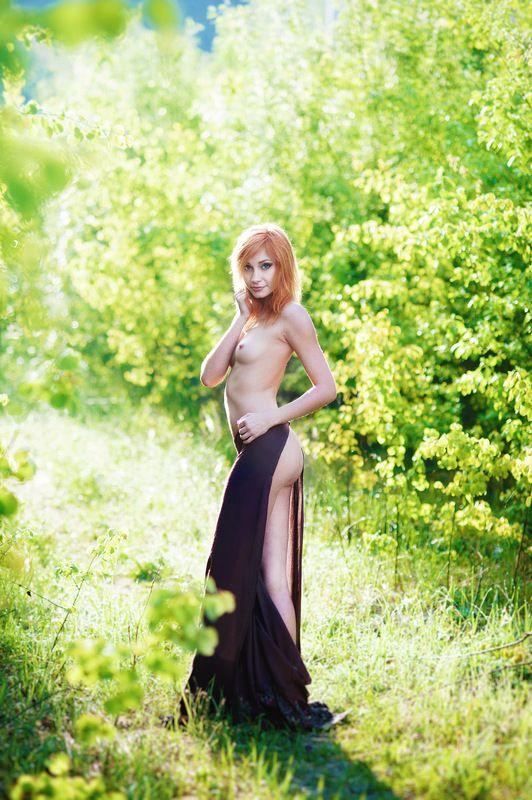 девушка, ню, эротика, лето Летняяphoto preview