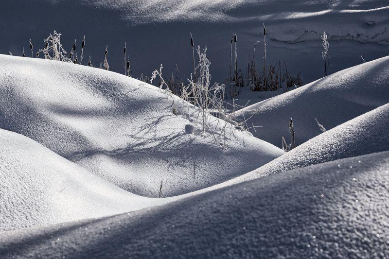 зима март сугробы свет тени Сугробыphoto preview
