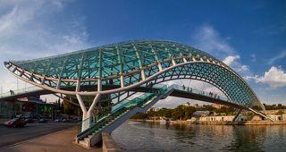 Мост Миру. Тбилиси.