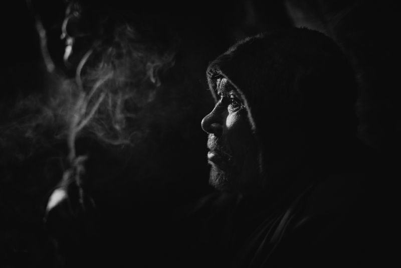 портрет, мужчина, ненец Василий Яндоphoto preview