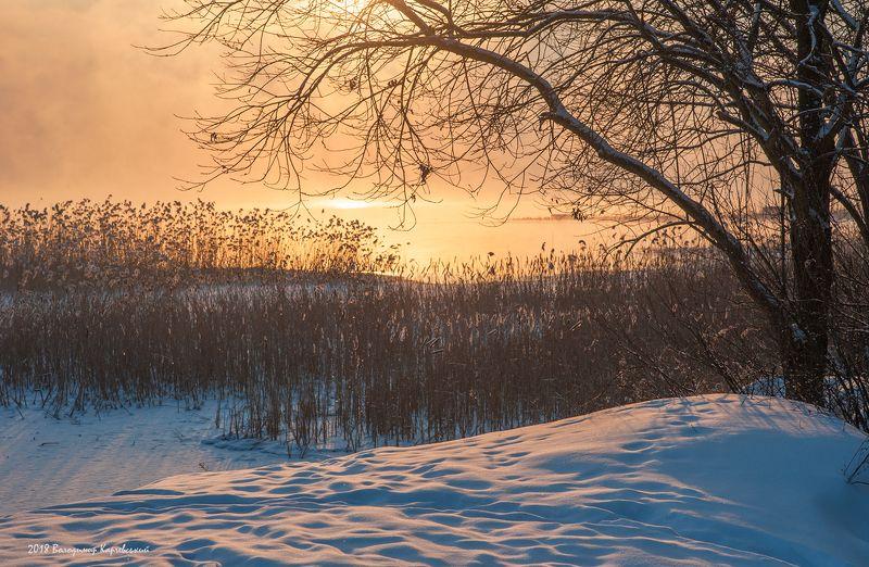 Утро настоящей зимы-хотя была весна....photo preview