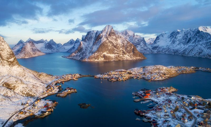 norway, lofoten, reine Reinephoto preview