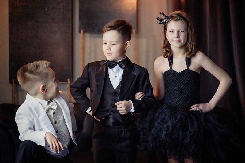 дети, студия,  Gentlemen Stylephoto preview