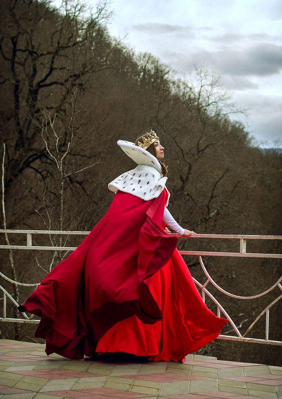 тишина, природа, лес, море, красный, королева, девушка, depeche mode, горы enjoy the silencephoto preview
