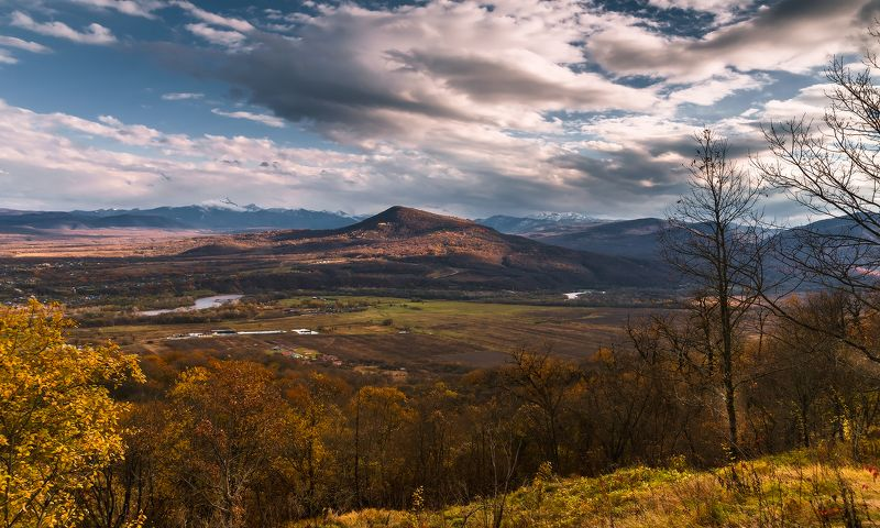 Долина Даховская. Осенний видphoto preview