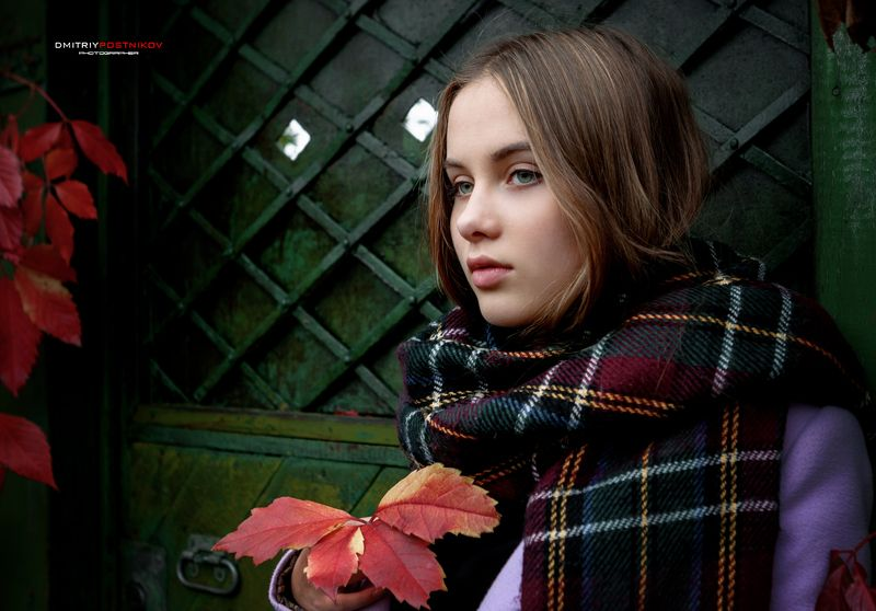 портрет,город,осень,девушка, Прогулка по осеннему городу.photo preview