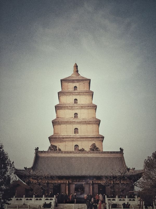 Great Wild Goose Pagoda Great Wild Goose Pagodaphoto preview