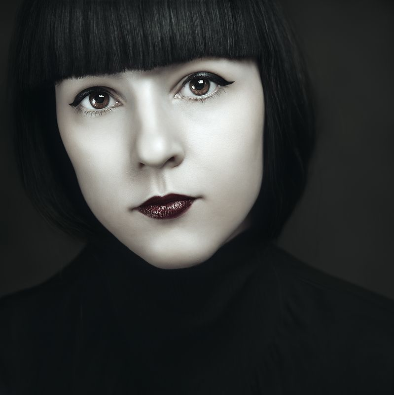 крупный портрет, лицо, портрет, фешн, студия фото .photo preview