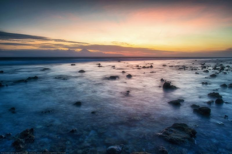 индонезия, индийский океан, бали, толмачев дмитрий, закат, море, отлив, острова, гили, гили траванган и тишина...photo preview