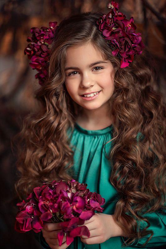 девочка, портрет Каринаphoto preview