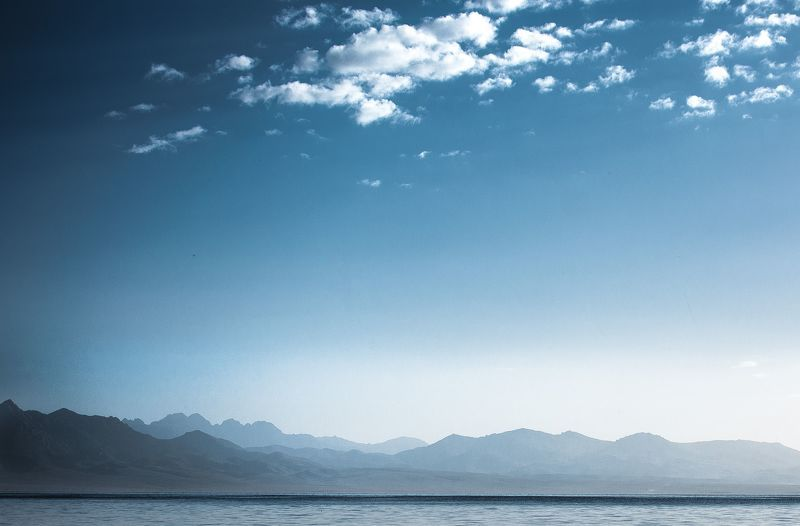 горы, рассвет, утро , озеро, природа, пейзаж Утроphoto preview