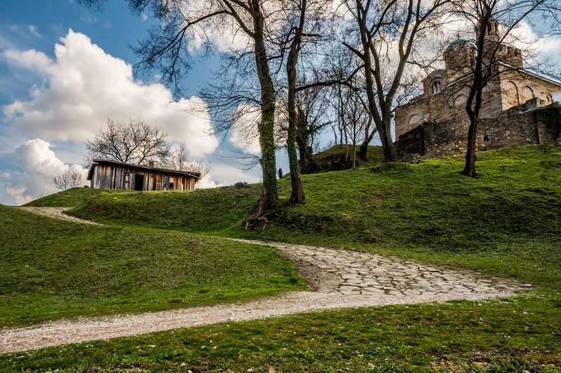 църква,nature,landscape,place,clouds,sky,history Дорога в церковьphoto preview