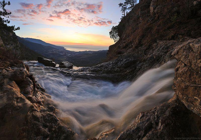 крым, ялта, водопад, река, ручей, учан-су, фотограф крым, фотограф ялта, пейзажи крыма Учан-Суphoto preview